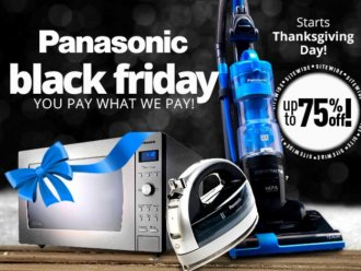 Panasonic Comprehensive Ebony Friday 2015 advertisement
