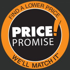 Price Promise come across less Price, We'll complement It