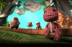 Sackboy and buddies in Little Big globe 3