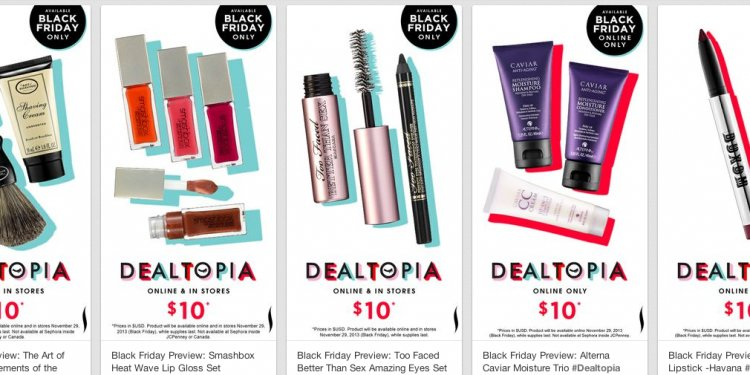Sephora deals on Black Friday