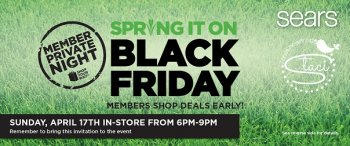 Spring It On Black Friday Member Private Night