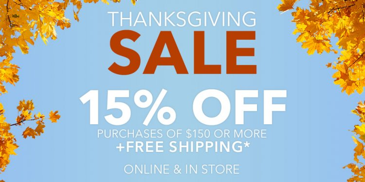 Thanksgiving offers