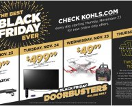 Black Friday sales Kohls