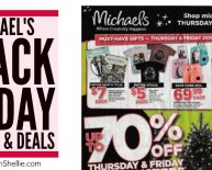 Michaels Black Friday Ads