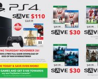 PS4 games Black Friday