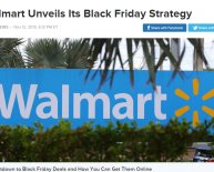 Walmart Black Friday deals online time