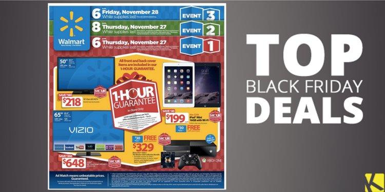 Walmart Black Thursday deals