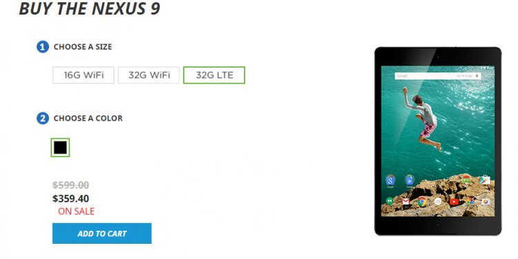 Nexus 7 Black Friday deals