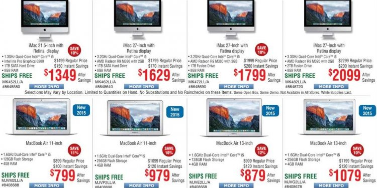 Does Apple have sales on Black Friday