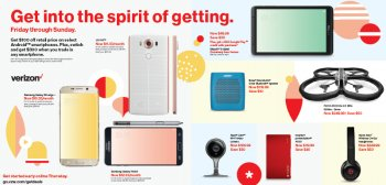 Verizon's Black Friday discounts: 5 days of deals on smartphones, pills, add-ons