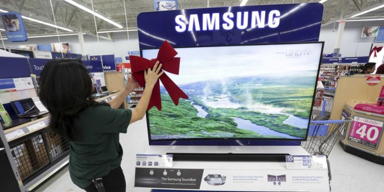 Black Friday sales on TV at Walmart