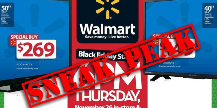 Walmart Preview Black Friday