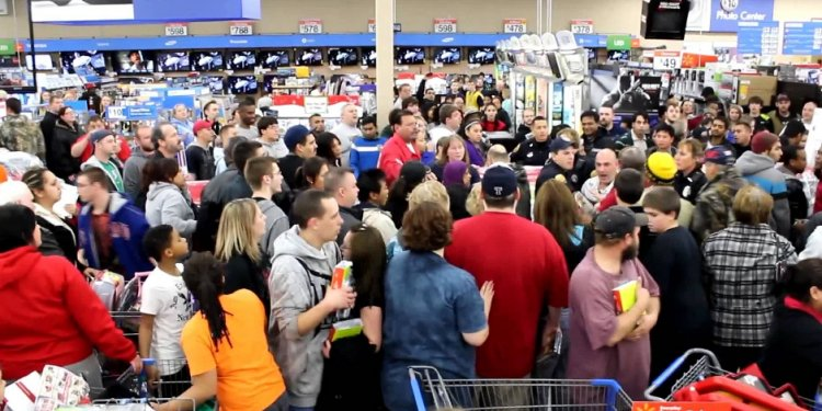 Online shopping for Black Friday at Walmart