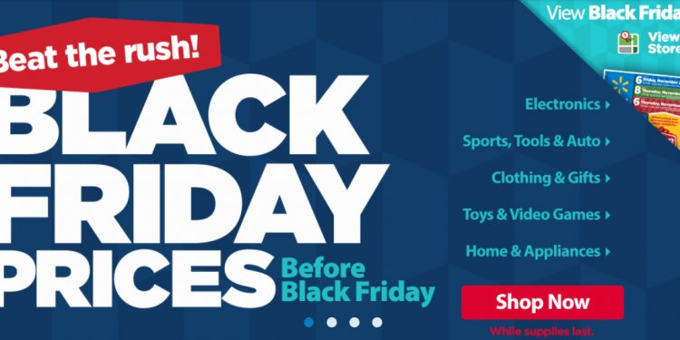 Black Thursday Walmart Ads