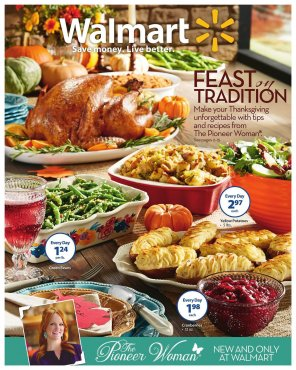 Walmart Thanksgiving 1