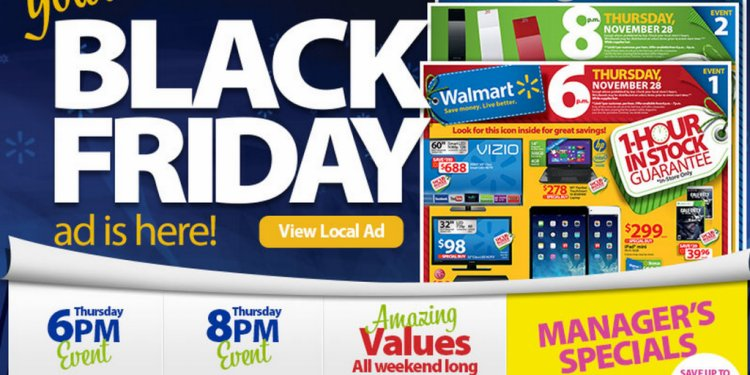 When is Walmart Black Friday sales