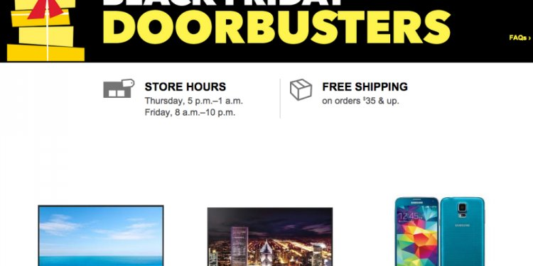 When does Best Buy Black Friday sales start
